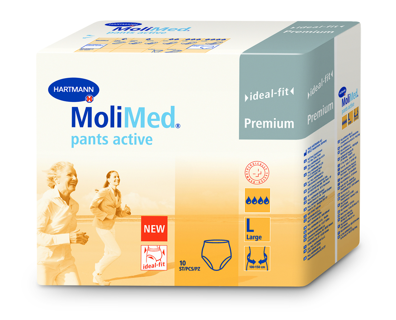 MoliMed Pants Active L - 3D