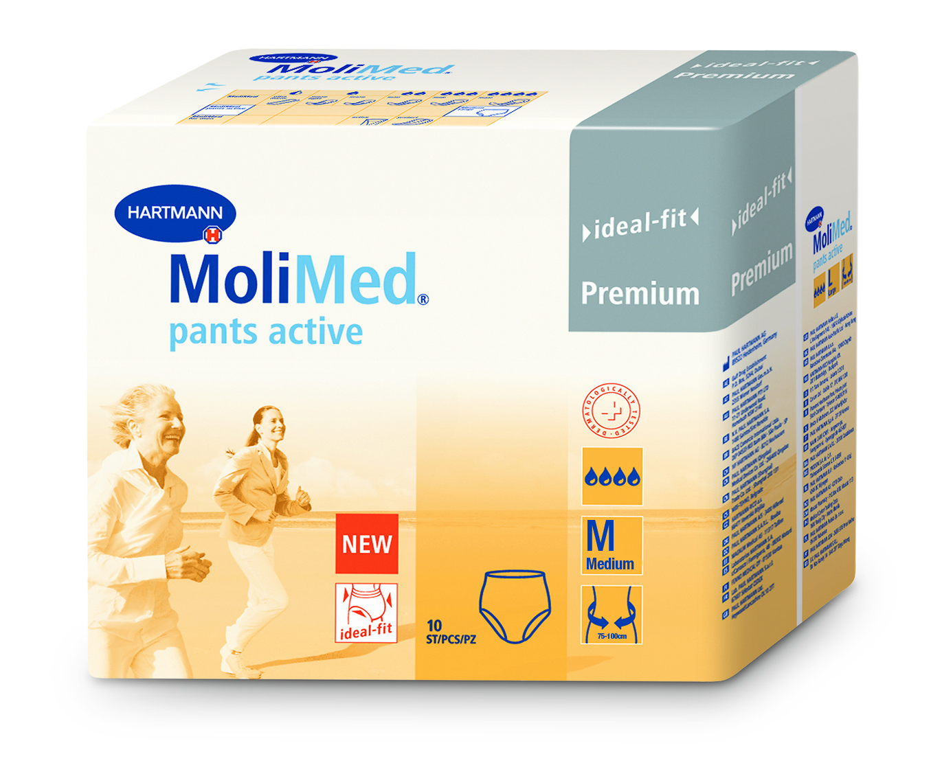 MoliMed Pants Active M - 3D