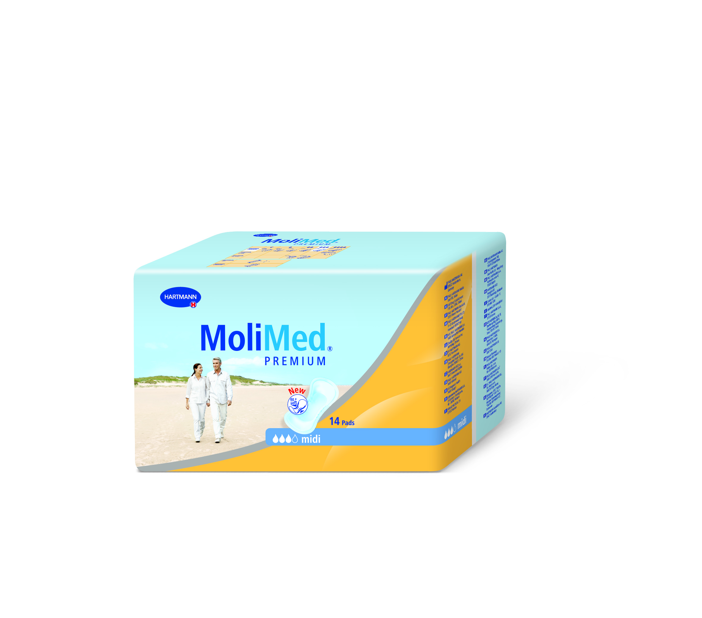 MoliMed Premium Midi - 3D